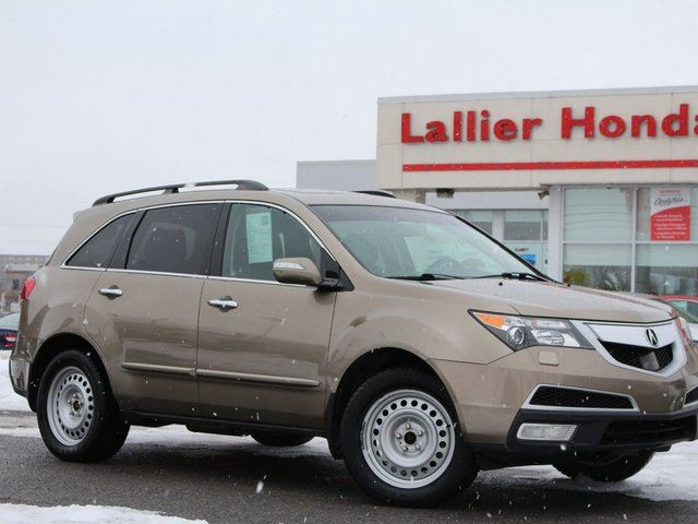 2011 Acura MDX Elite V6 AWD GPS, Cuir, Sieges Chauffant et Toit Ouvrant! in