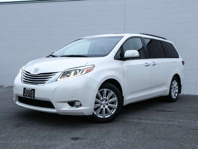 2015 Toyota Sienna XLE Limited AWD 7-Pass V6 6A in Penticton, British Columbia