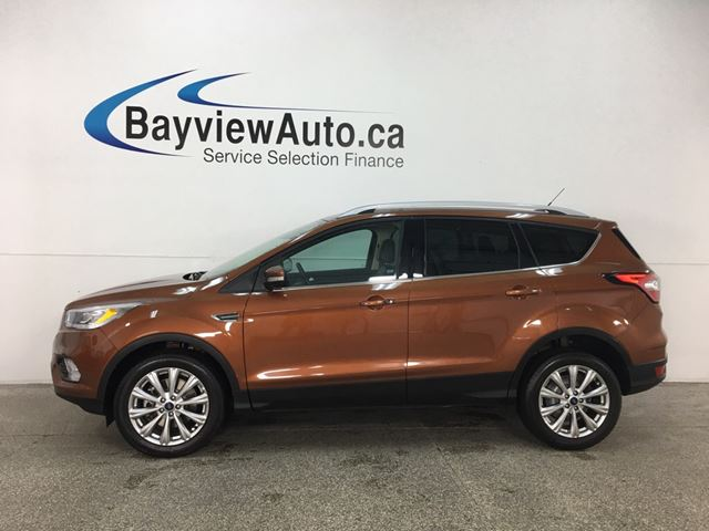 2017 Ford Escape Titanium - SYNC! NAV! REVERSE CAM! KEYPAD! HTD LTHR! PANOROOF! PWR LIFTGATE! in