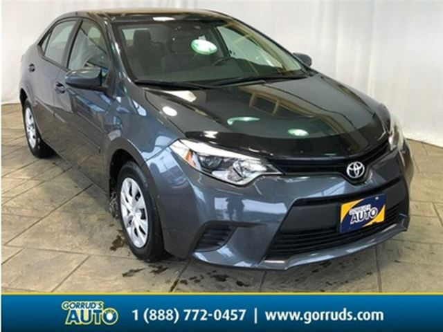 2015 TOYOTA Corolla CE/Auto/Cd Player/Bluetooth in Milton, Ontario
