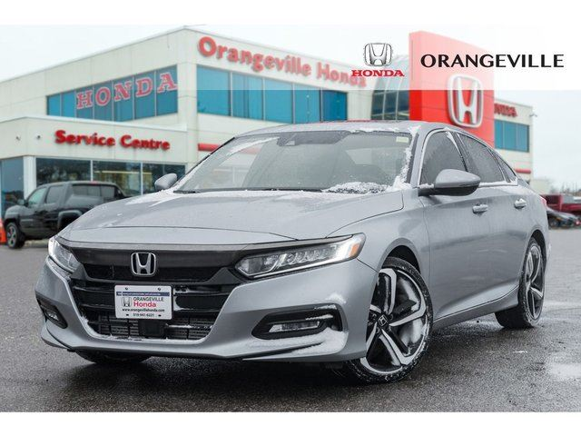 2018 HONDA ACCORD  Sport 2.0T BACKUP CAM LANE CHANGE CAM SUNROOF in Orangeville, Ontario