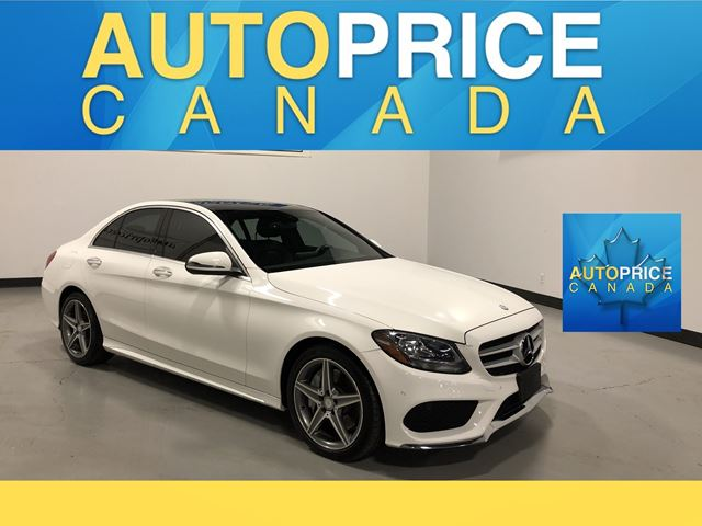 2016 MERCEDES-BENZ C-CLASS NAVIGATION|PANOROOF|LEATHER in Mississauga, Ontario