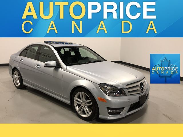 2013 MERCEDES-BENZ C-CLASS MOONROOF|NAVIGATION|LEATHER in Mississauga, Ontario
