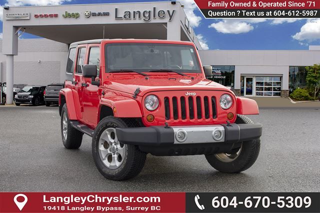 2013 Jeep Wrangler Unlimited Sahara *KEYLESS ENTRY* * POWER OPTIONS* in