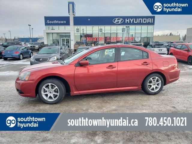 2009 MITSUBISHI Galant RALLIART/NAV/LEATHER/SUNROOF in Edmonton, Alberta