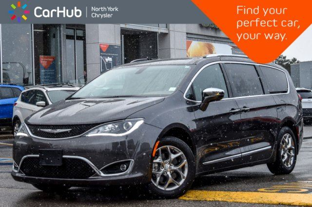2018 CHRYSLER Pacifica Limited PanoSunroof BlindSpot RemoteAutoStart Nav 18Alloys in Thornhill, Ontario