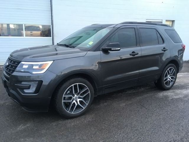 2017 Ford Explorer Sport Twin Panel Moonroof Remote Start Ottawa