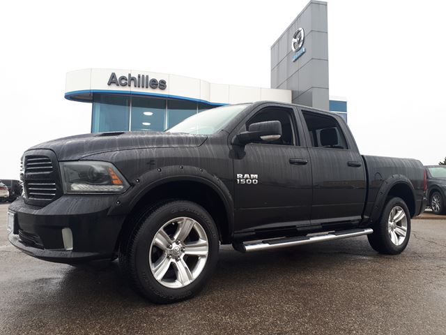 2015 DODGE RAM 1500 Sport, Alloys, Beautiful Truck in Milton, Ontario