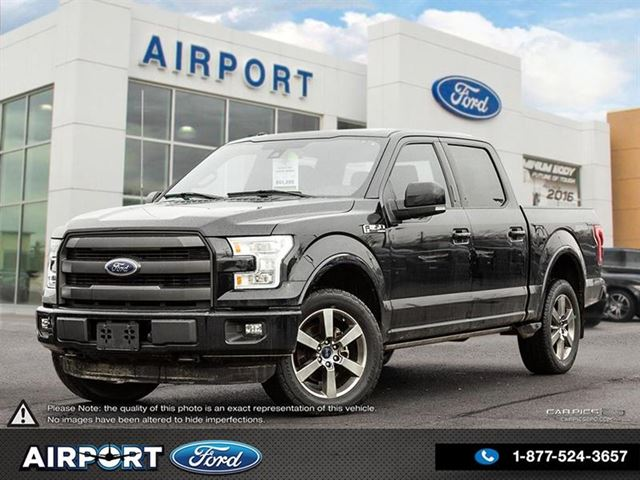 2016 FORD F-150 Lariat Sport 4X4 with only 94,461 kms in Hamilton, Ontario