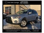 2011 Mitsubishi Outlander LS V6 4WD, SUNROOF, ROCKFORD FOSGATE STEREO, HEATED SEATS! LUXE SELECT CERTIFIED PRE-OWNED in Orleans, Ontario
