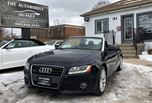 2010 Audi A5 2.0L Cabriolet ONE OWNER CONVERTIBLE NO ACCIDENT in Mississauga, Ontario