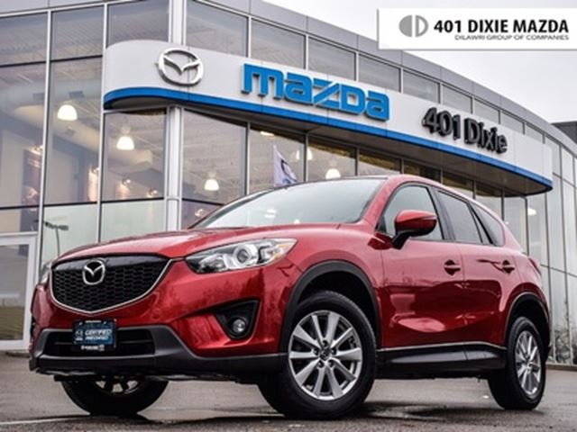 2015 MAZDA CX-5 GS, ONE OWNER, 1.9% FINANCE AVAILABLE in Mississauga, Ontario