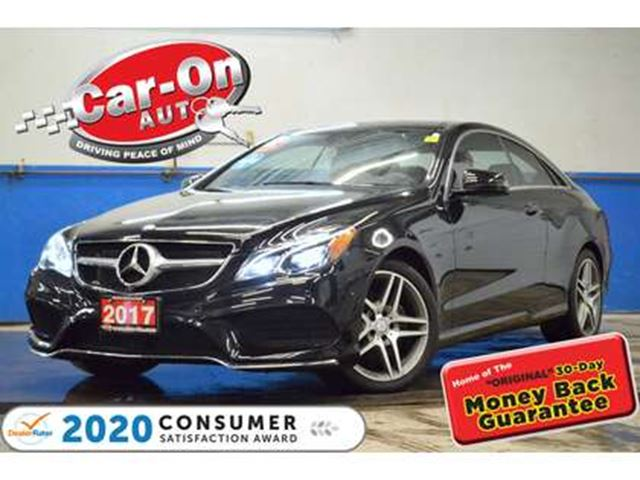 2017 MERCEDES-BENZ E-Class E400 LEATHER NAV PANO ROOF ONLY 16, 000 KM in Ottawa, Ontario