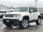 2017 Jeep Renegade LIMITED**4X4**LEATHER**NAV**BACK UP CAM**SUNROOF** in Mississauga, Ontario