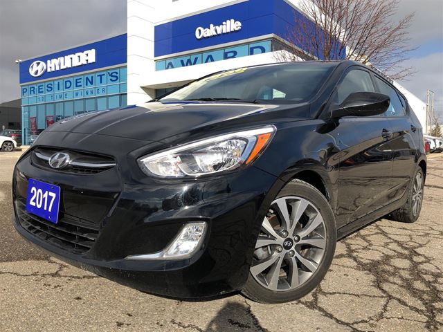 2017 HYUNDAI Accent 1.6L  SE  ALLOYS  ROOF  BLUETOOTH  ONE OWNER in Oakville, Ontario