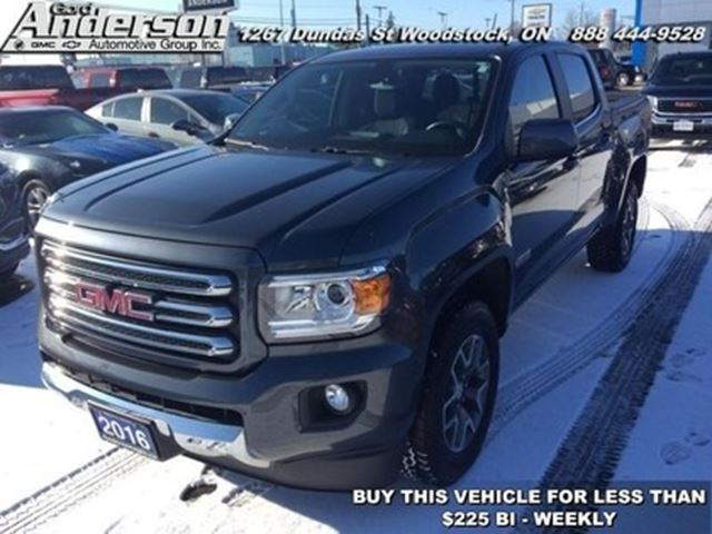 2016 GMC Canyon SLE -  Touch Screen -  Bluetooth in