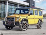 2015 Mercedes-Benz G-Class G63 AMG 4MATIC in Mississauga, Ontario