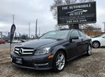 2013 Mercedes-Benz C250 C250 COUPE PANO ROOF NO ACCIDENT in Mississauga, Ontario