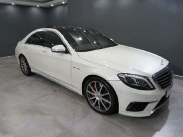 2014 MERCEDES-BENZ S-Class S63 AMG RWD in Mississauga, Ontario