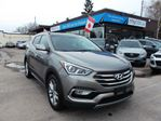 2017 Hyundai Santa Fe 2.0T Limited 2.0T, LEATHER, SUNROOF, NAV, HEATED SEATS!! in North Bay, Ontario