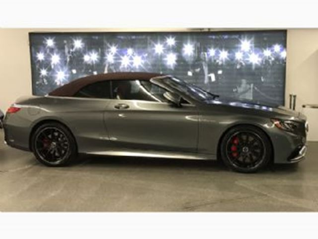 2017 MERCEDES-BENZ S-Class AMG S 63 4MATIC Convertible Tire&Rim Ins + Prepaid Service in Mississauga, Ontario