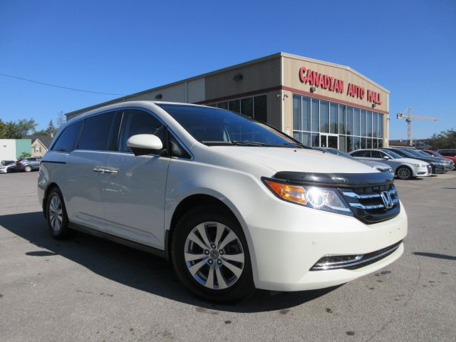 2015 HONDA Odyssey EX-L w/RES, LEATHER, ROOF, 56K! in Stittsville, Ontario