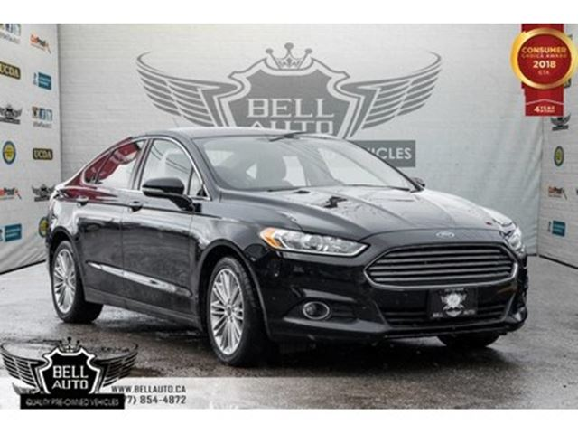 2016 FORD Fusion SE, NAVI, BACK-UP CAM, SENSORS, HEATED SEATS in Toronto, Ontario
