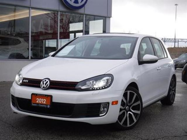 2012 VOLKSWAGEN GTI GTI 5-Dr DSG Auto One Owner P.roof in Markham, Ontario