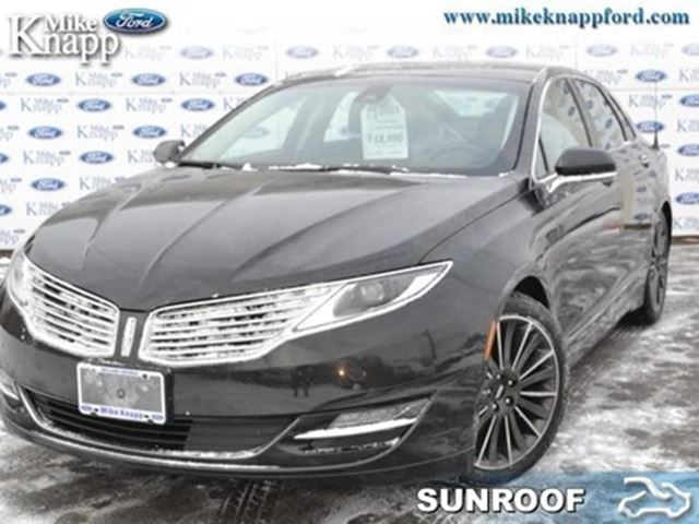 2013 LINCOLN MKZ Base - Leather Seats -  Bluetooth in Welland, Ontario