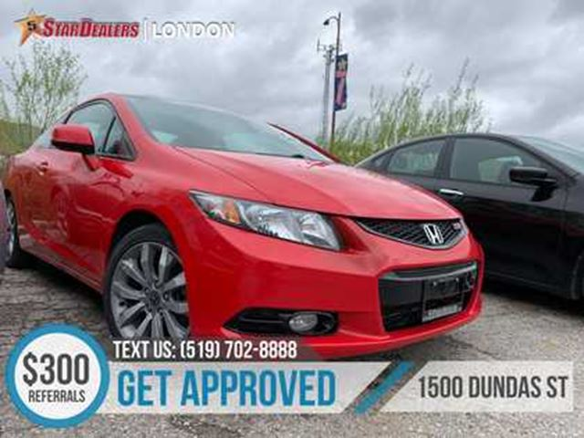 2013 HONDA Civic Si   ROOF   NAV   CAM HEATED SEATS in London, Ontario