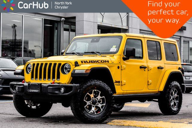 2019 JEEP Wrangler Unlimited Rubicon New Car 4x4 Cold.Wthr.Pkgs Adv.Safety.Pkg 17Alloys in Thornhill, Ontario