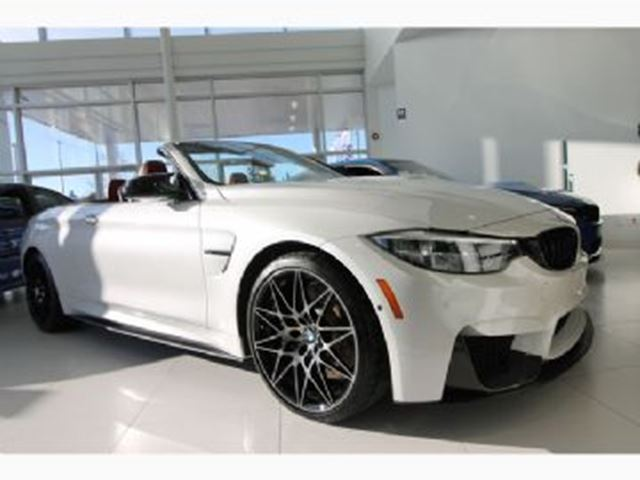 2018 BMW M4 Cabriolet Ultimate Package in Mississauga, Ontario