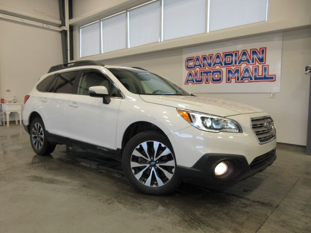 2015 SUBARU Outback 2.5i AWD, NAV, ROOF, LEATHER, 47K! in Stittsville, Ontario