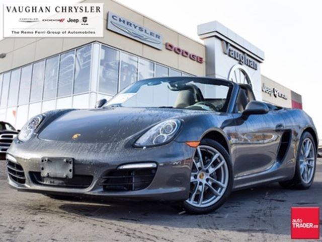 2015 PORSCHE Boxster 1Owner* Only 38899kms !! * Clean Carproof in Woodbridge, Ontario