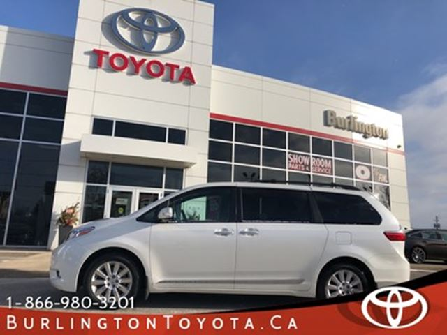 2015 TOYOTA Sienna LIMITED EDITION in Burlington, Ontario