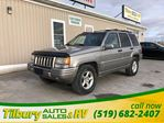 1998 Jeep Grand Cherokee Limited. Heated Seats. Leather. in Tilbury, Ontario