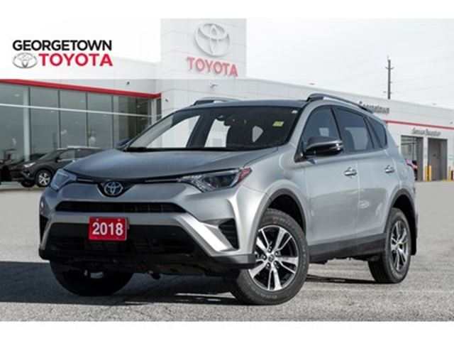 2018 TOYOTA RAV4 LE BACKUP CAM HEATED SEATS ROOF RACK SPOILER in Georgetown, Ontario