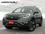 2016 Honda CR-V Touring Sold Pending Customer Pick Up...USED SALES TEAM NOW IN THE MAIN SHOWROOM in Waterloo, Ontario