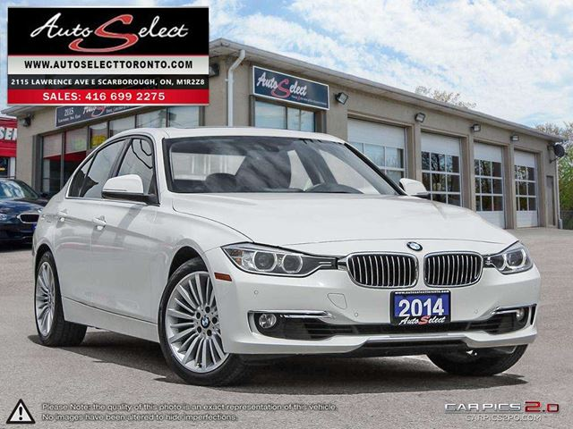 2014 BMW 3 Series 328 i xDrive AWD ONLY 70K! **NAVIGATION PKG** CLEAN CARPROOF in Scarborough, Ontario