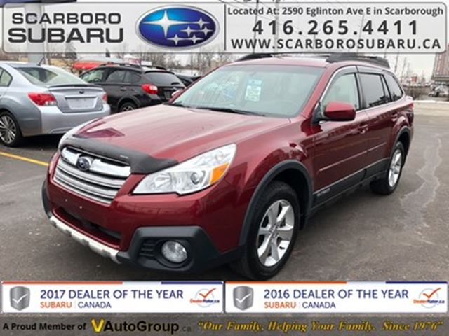 2014 SUBARU Outback 3.6R Limited PKG, FROM 1.9% FINANCING AVAILABLE in Scarborough, Ontario