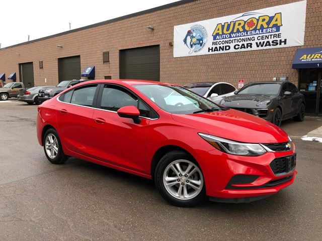 2017 CHEVROLET Cruze LT - BACK UP CAMERA - ALLOYS in Aurora, Ontario