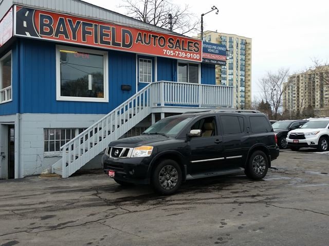 2015 NISSAN Armada Platinum Reserve Edition 4x4 **Fully Loaded/1 Owner** in Barrie, Ontario