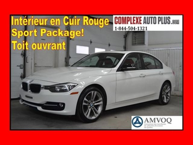 2014 BMW 3 Series 320i xDrive Sport Line 320 i *Cuir Rouge,Toit in Saint-Jerome, Quebec
