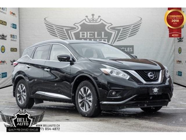 2015 NISSAN Murano Platinum, AWD, NAVI, BACK-UP CAM, PANO ROOF, LEATH in Toronto, Ontario
