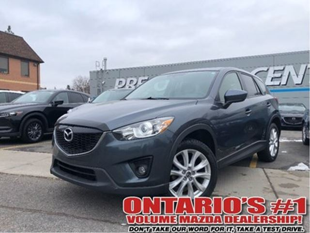 2013 MAZDA CX-5 GT-AWD,LEATHER,SUNROOF,ONE OWNER!!! in Toronto, Ontario