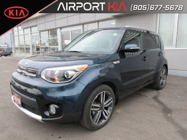 2018 KIA Soul EX Premium/leather/Panoramic Roof/Camera/LOW KMs in Mississauga, Ontario