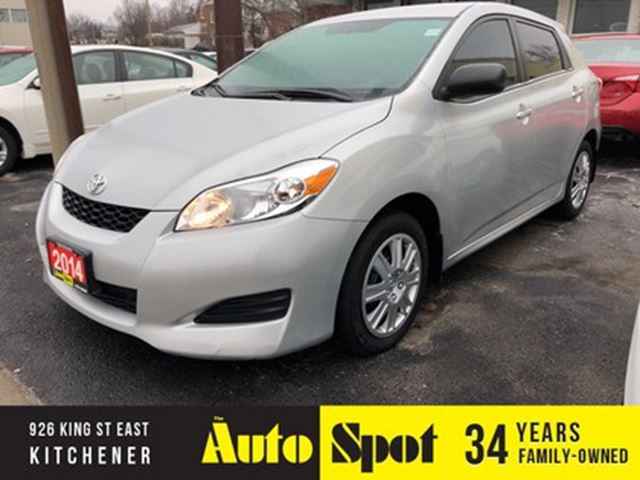2014 TOYOTA Matrix PRICED - QUICK SALE !/ in Kitchener, Ontario