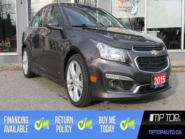 2015 Chevrolet Cruze 2LT ** RS, Leather, Sunroof, Remote Start ** in