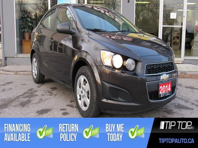 2014 Chevrolet Sonic LS ** Manual, Brand New Tires, Low Km, Affordab in