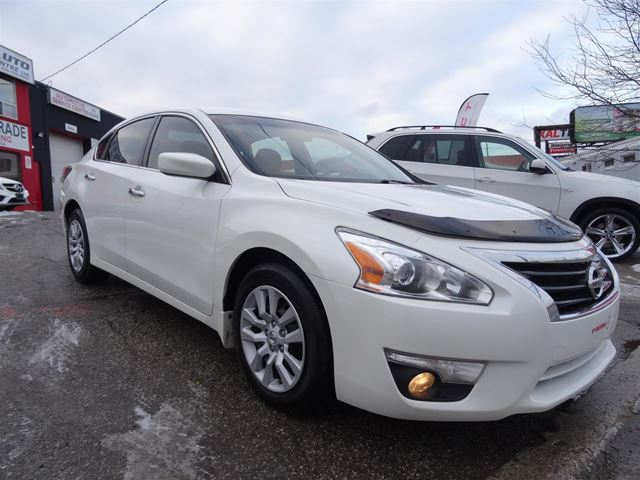2015 NISSAN Altima 2.5 S*ONE OWNER*CLEAN CARFAX* in Toronto, Ontario